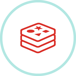 Redis for VMware Tanzu™ Application Service™ logo
