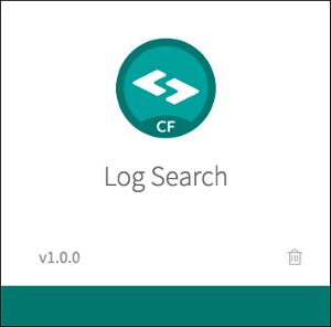 Using PCF Log Search | Pivotal Docs