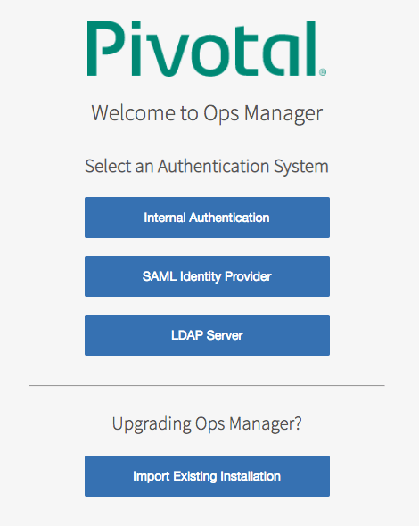Select authentication