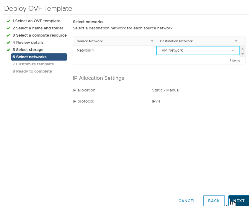 Deploying Ops Manager on vSphere | Pivotal Docs