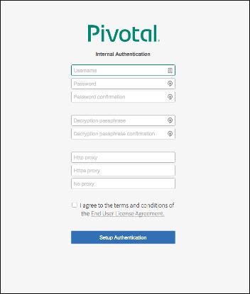 Configuring BOSH Director on AWS Using Terraform | Pivotal Docs