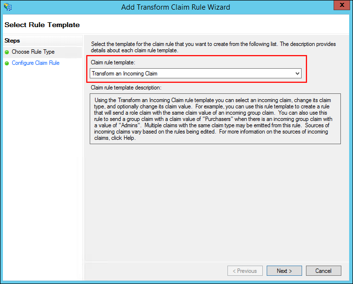 Configuring Active Directory Federation Services as an Identity