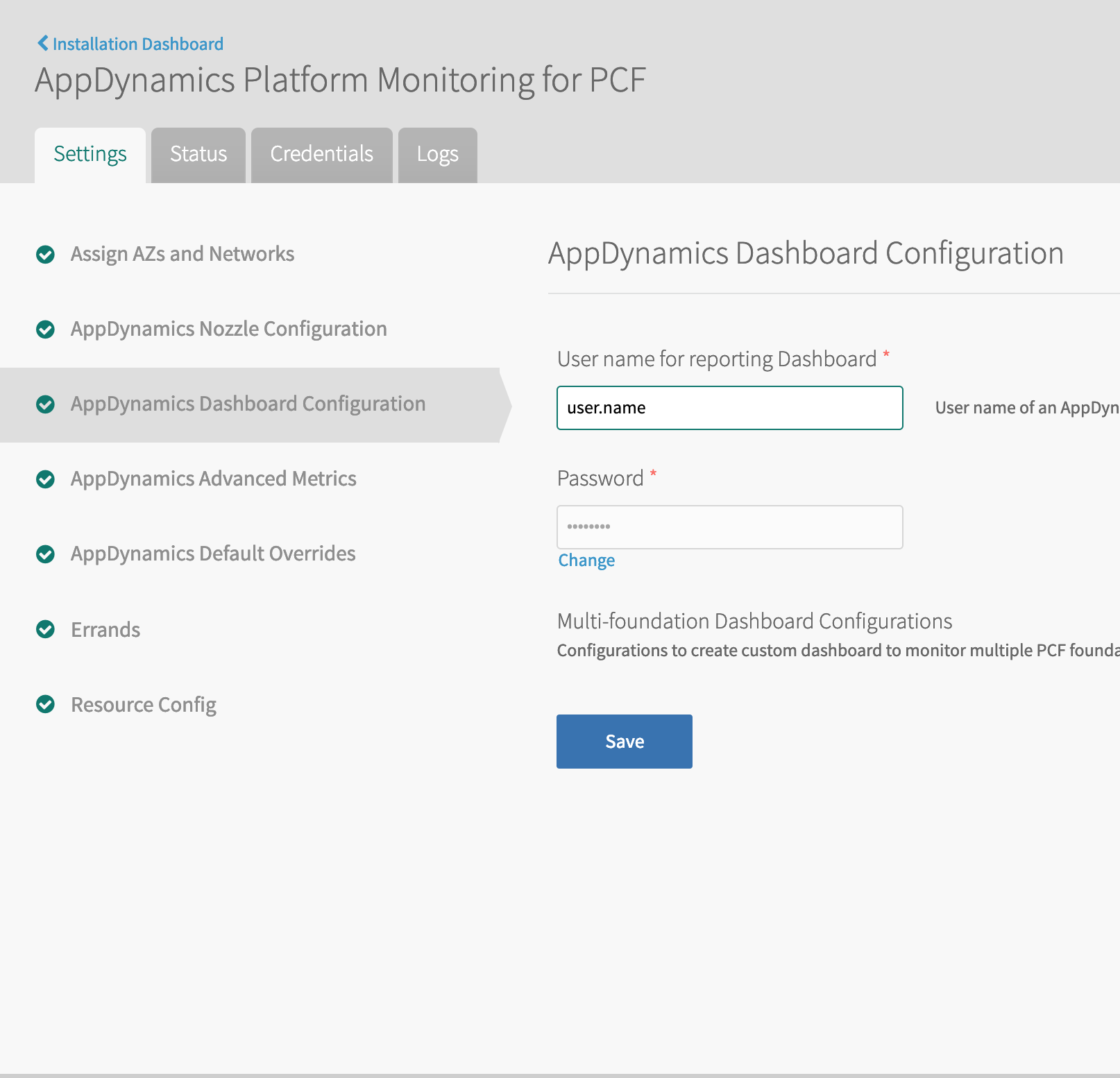 Installing and Configuring AppDynamics Platform Monitoring