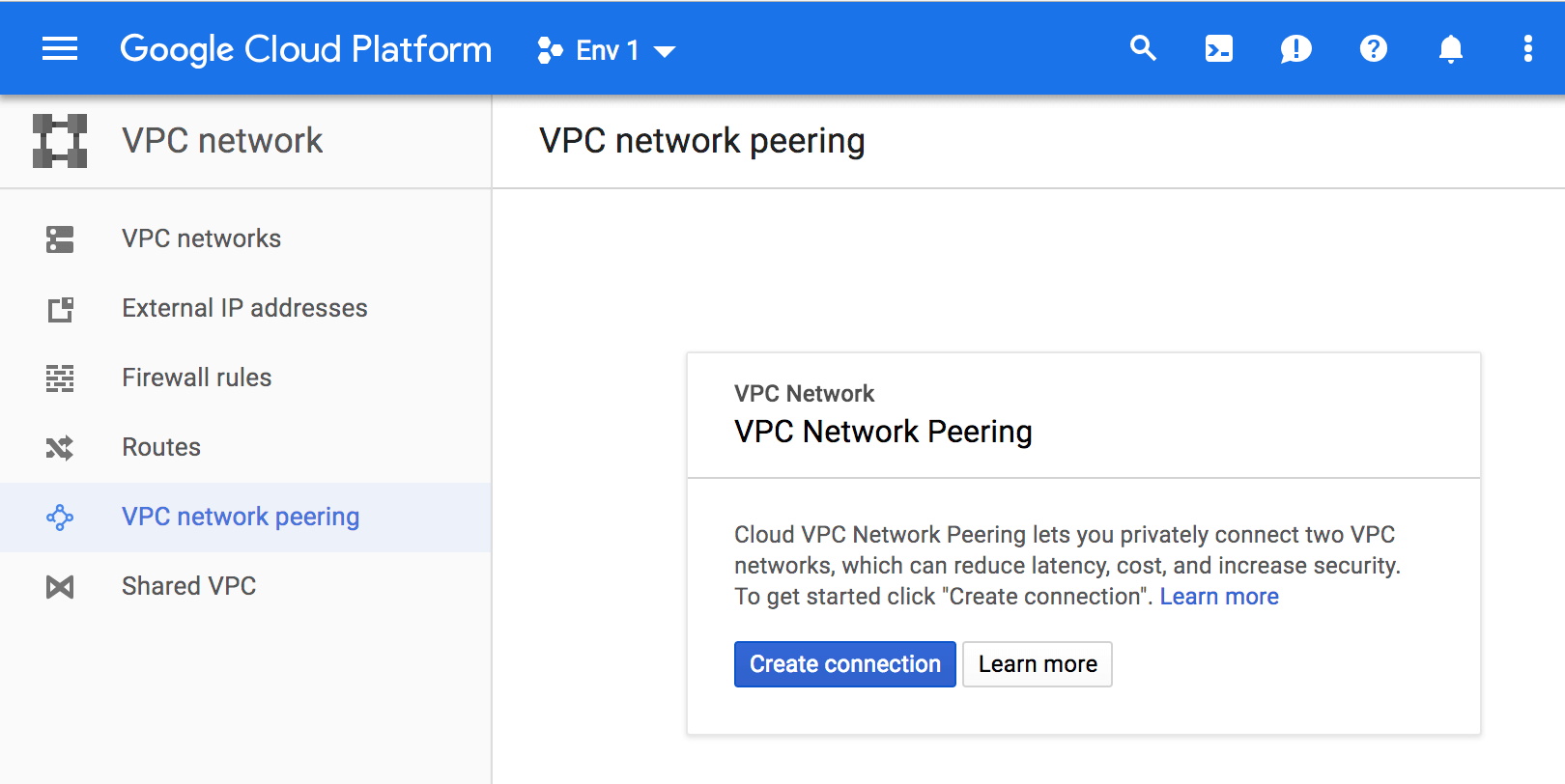Configuring a Shared VPC on GCP   Pivotal Docs
