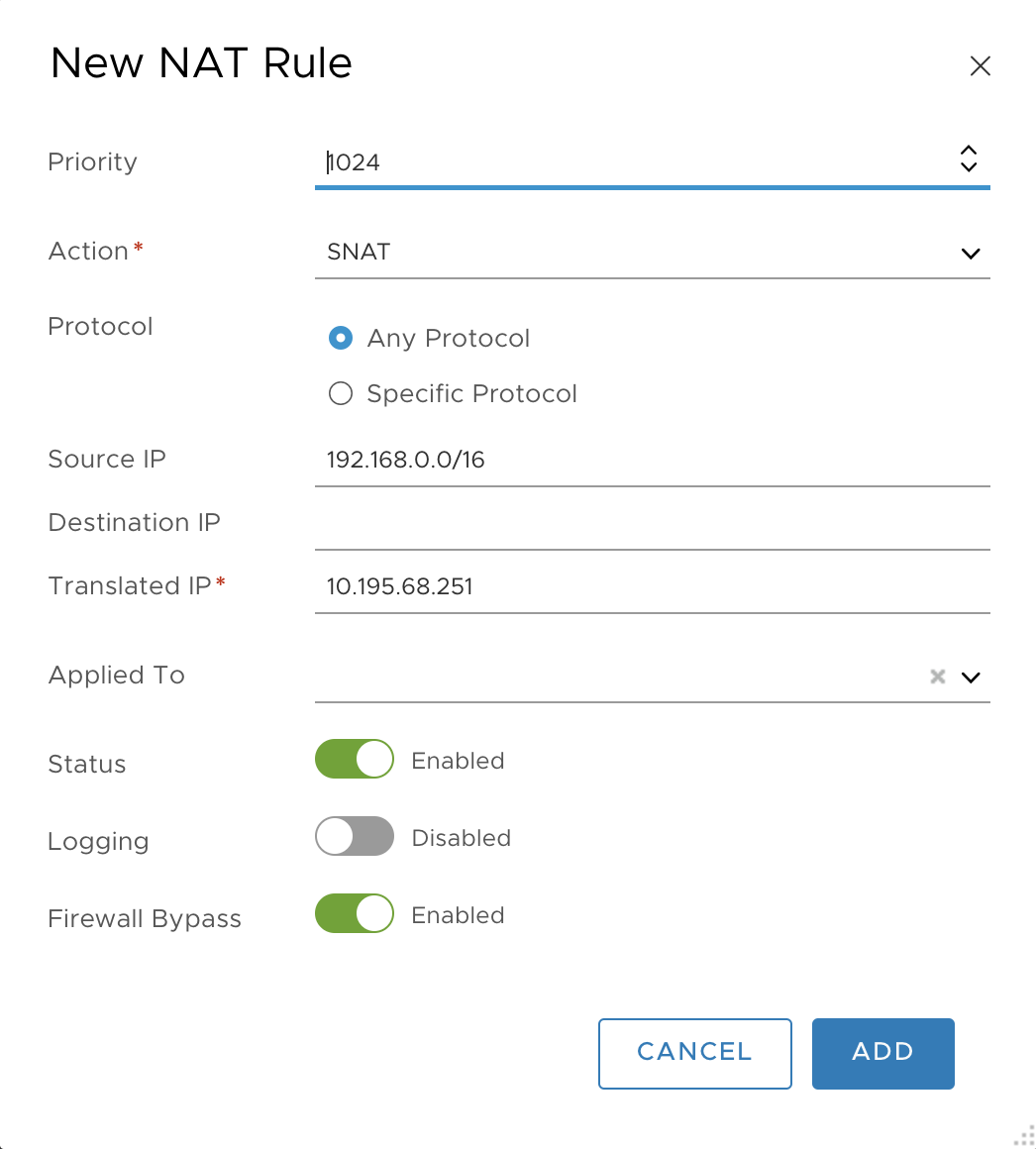Deploying PAS with NSX-T Networking | Pivotal Docs