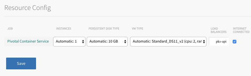 Installing PKS on Azure | Pivotal Docs