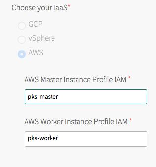 Installing PKS on AWS   Pivotal Docs