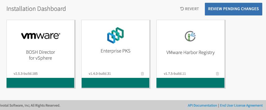 Installing PFS on PKS on vSphere | Pivotal Docs