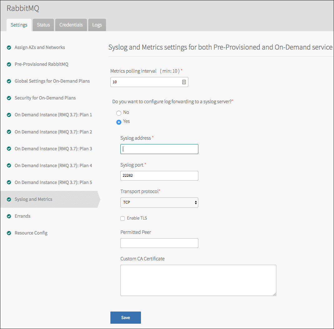 Installing and Configuring the <br>Pre-Provisioned Service | Pivotal