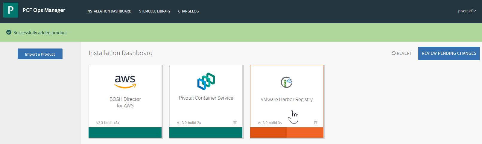 Installing and Configuring VMware Harbor Registry | Pivotal Partner Docs