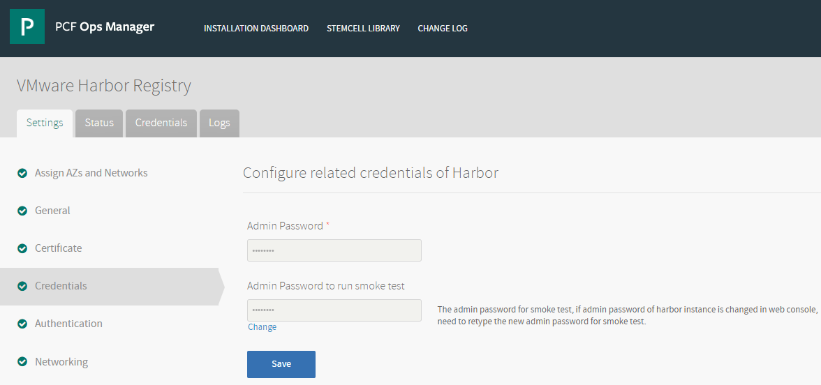 Installing and Configuring VMware Harbor Registry | Pivotal Partner Docs